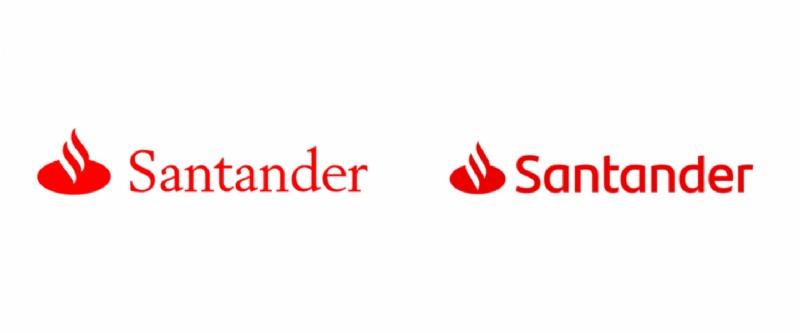 El banco santander presenta nuevo logo de la mano de for Banco santander abierto sabado madrid