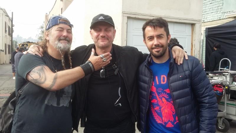 Nelson Luty, Juan José Campanella y Federico Moreno Breser