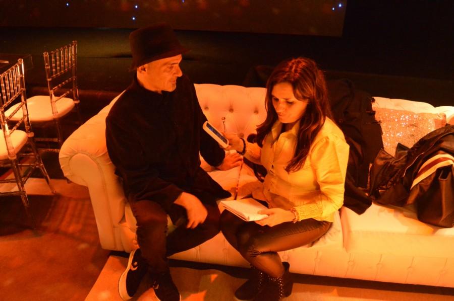 Entrevistando a Martín Roig  destacado decorador internacional. Único medio platense de diseño que tuvo una entrevista con él en su evento. Sus conocimientos sumaron atención a nuestra presentación de hoy.