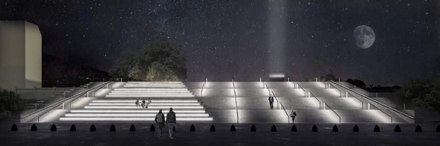Escalera de noche