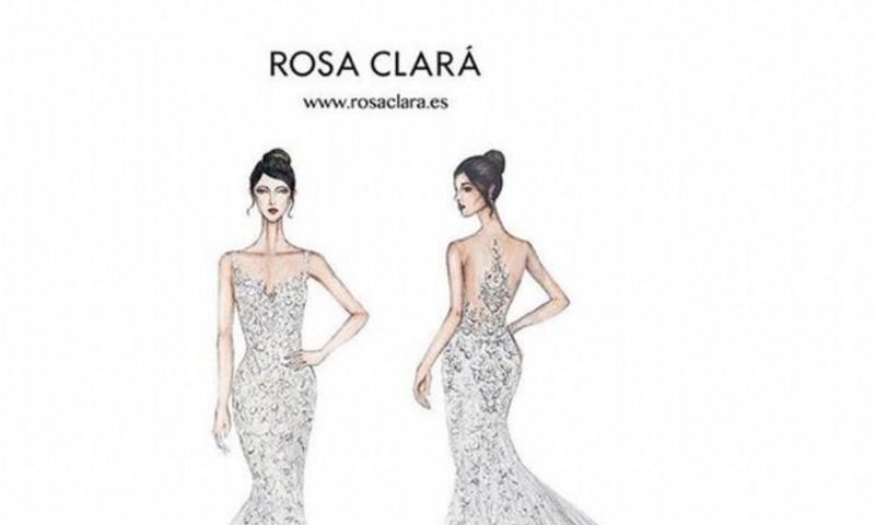 El vestido de Antonela Rocuzzo. Foto: Instagram