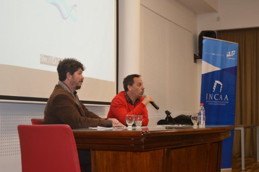 Luis Bernández respondiendo preguntas a los asistentes al evento. Foto Dopler. Todos los derechos reservados