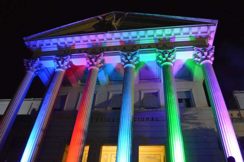 Museo de Ciencias Naturales de La Plata. Foto Dopler Agencia de Noticias de Diseño - Todos los derechos reservados