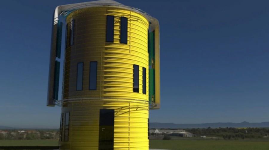 El proyecto preferido de Giovani es el que realiza junto a Tango Winds, quienes desarrollaron una nueva tecnología de generación eólica