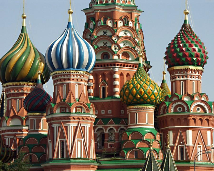 La Catedral de San Basilio en Moscú