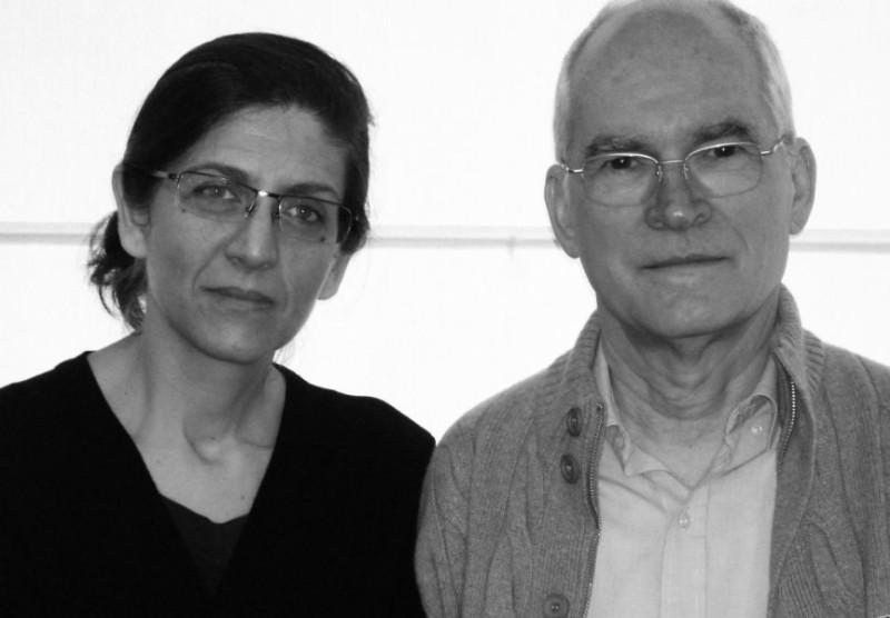 Zalma Jalluf y Rubén Fontana