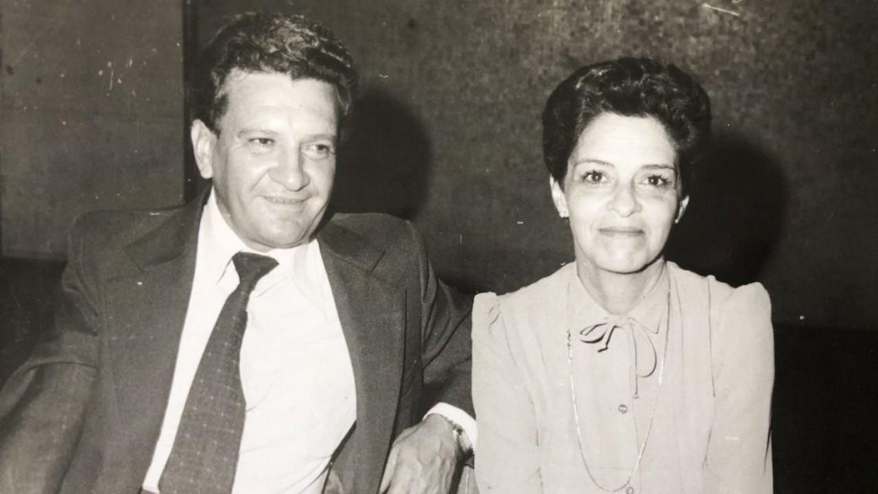 Mi abuela Lucía con mi abuelo Miguel, su amor eterno.