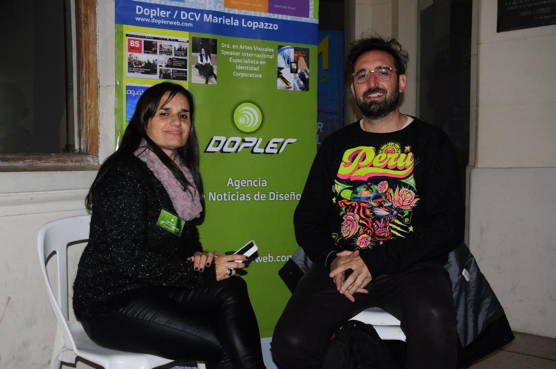 Entrevistando a SanSpiga Foto: DG Federico Giménez Lemme