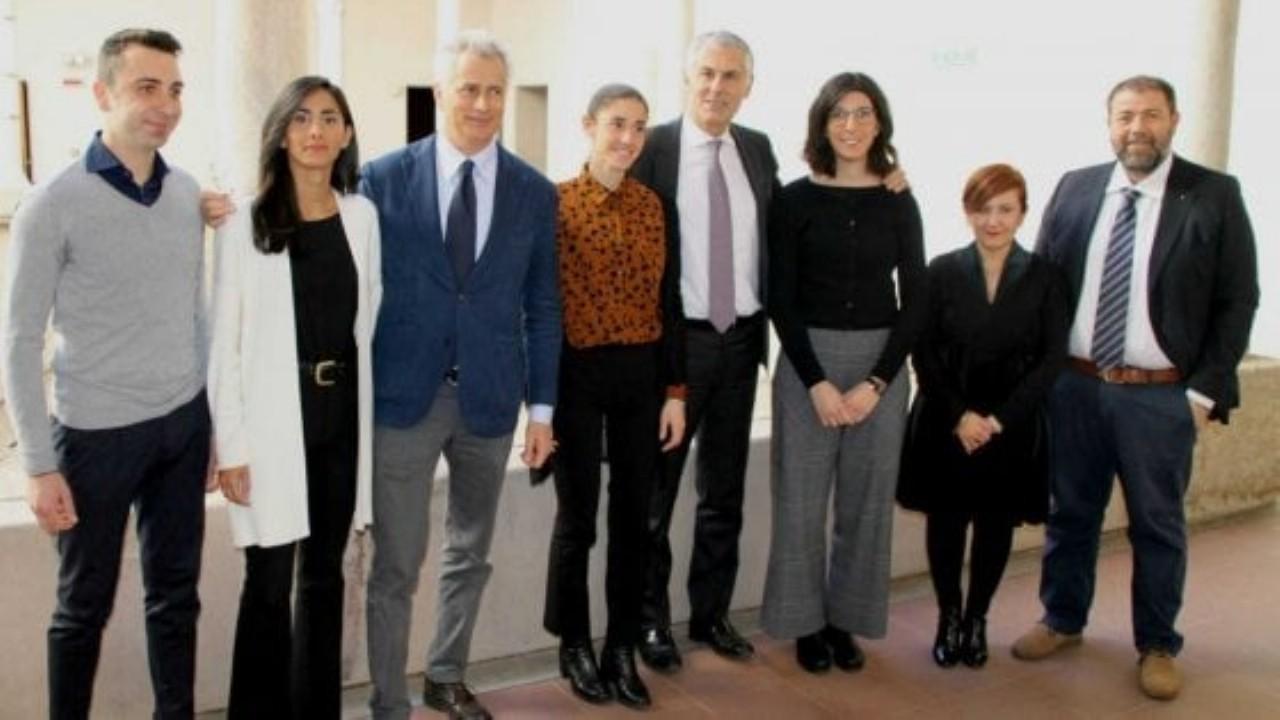 El grupo de trabajo de la Universidad de Palermo que trabajará con renzo Piano.