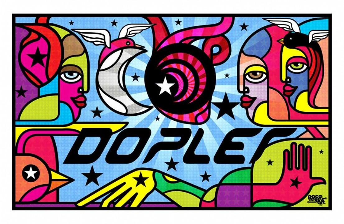 Ilustración de nuestro amigo Paco Reyes artista mexicano diseñada especialmente para nuestros 10 años.
