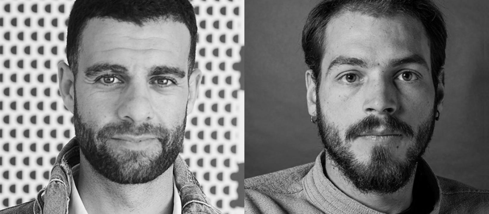 Guillem Gallego, chief marketing officer, y Giuseppe Fioretti, director artístico, en Desigual