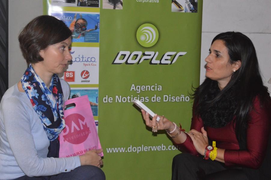 Entrevista a Guillermina Nöel Foto: Dopler Agencia de Noticias de Diseño. Todos los derechos reervados