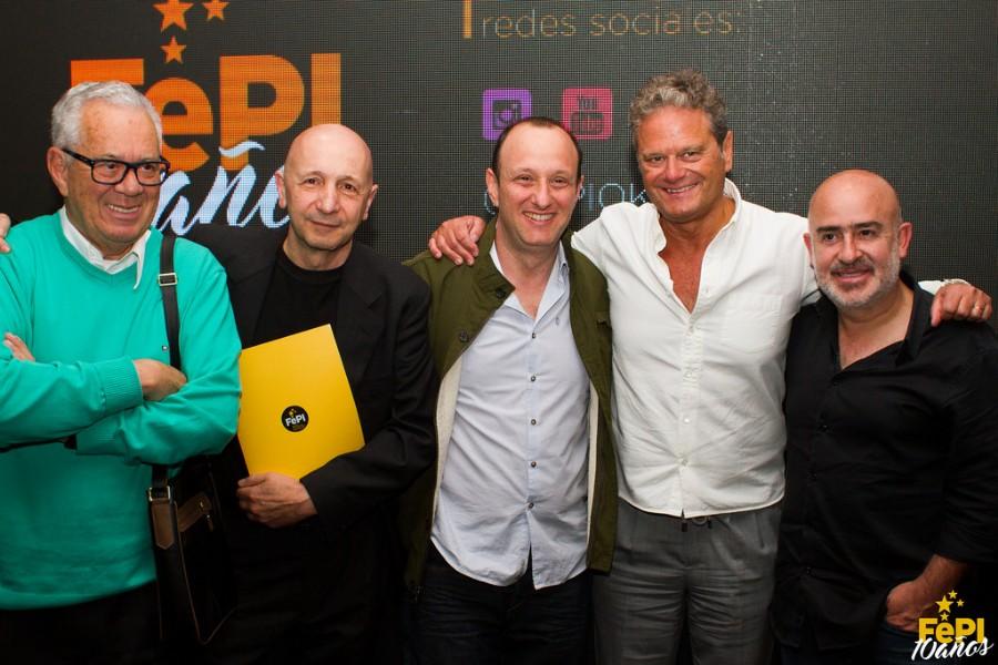 Luiz Coronel, Osvaldo Palena, Pipe Stein, Fernando Vega Olmos, Raúl Cardós