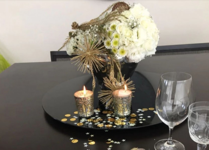 Las flores y los arreglos toman mucho protagonismo en esta época del año (Patricia Castro Flores)