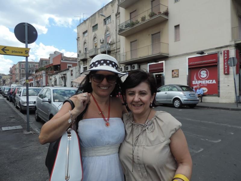 Italia 2014 Mariela Lopazzo y Cinzia Ferrara