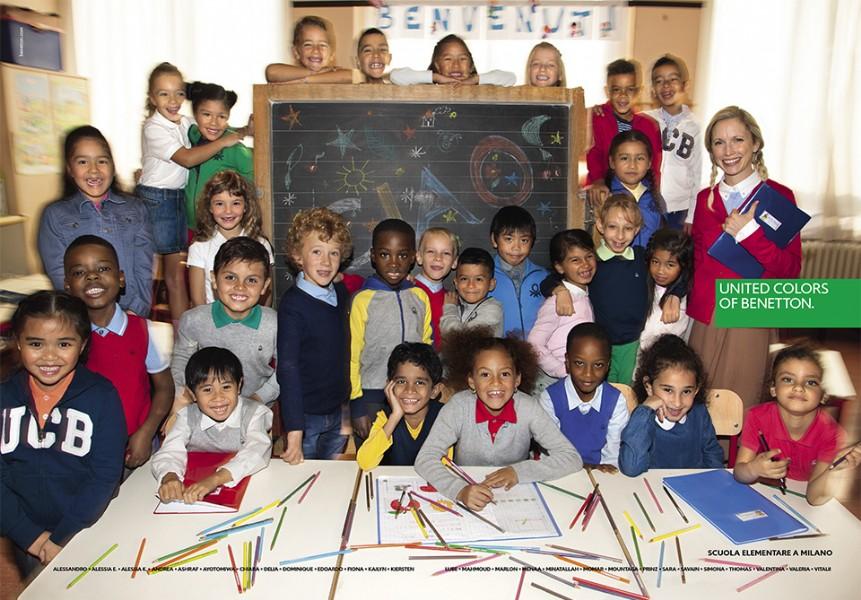 """""""Una clase de veintiocho niños. De trece nacionalidades diferentes, procedentes de cuatro continentes. Sonrientes. Con el futuro ante ellos"""""""