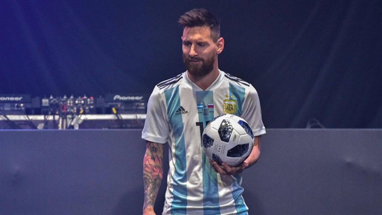 Lionel Messi, con la Telstar18