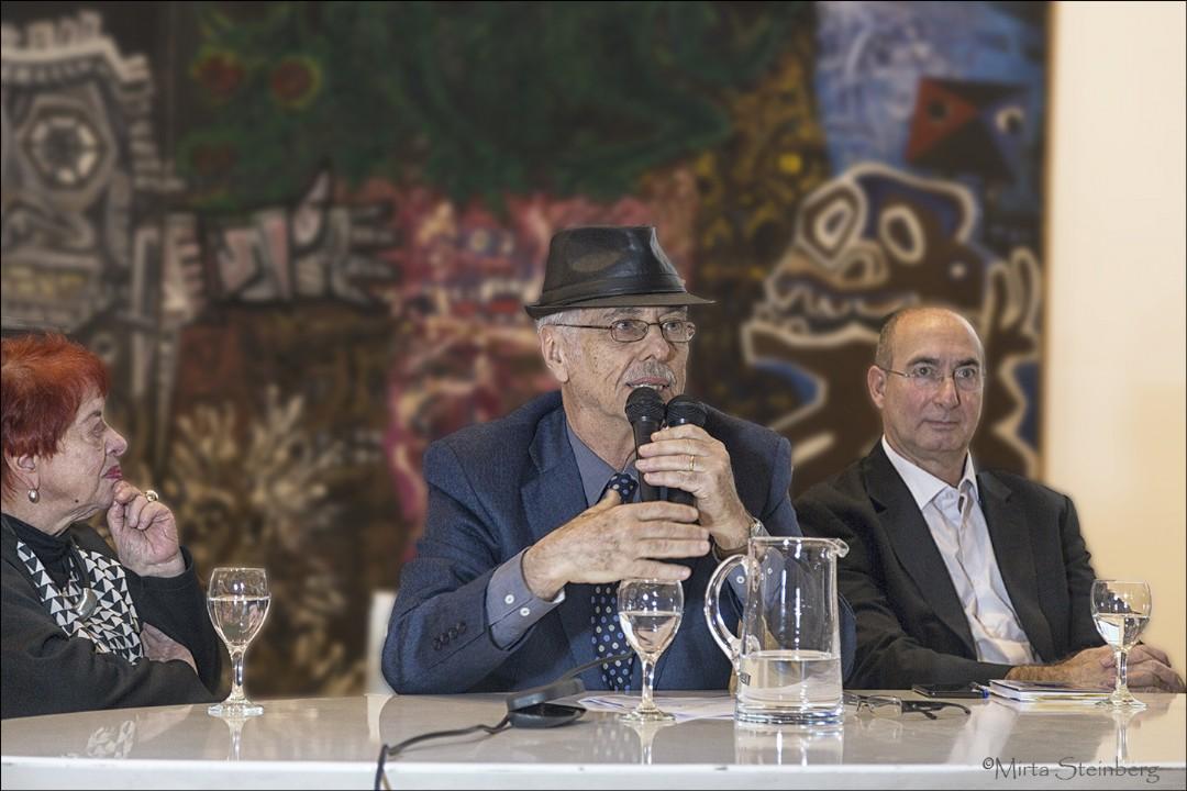Graciela Taquini, Daniel O Casoy y Alejandro Lapunzina