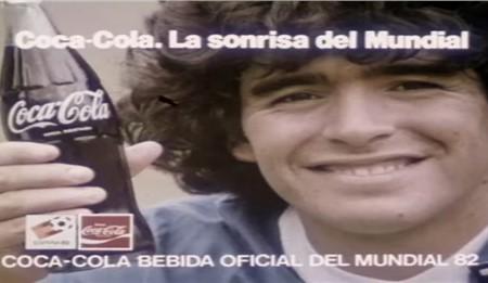 Diego Armando Maradona nos recuerda hoy el día de la publicidad