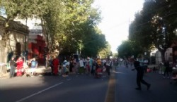 Calle 13 peatonal de 44 a 50