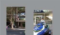 Stand de Bomberos y Polícia de la Provincia de Buenos Aires