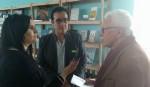Entrevistando al Arq. Carlos Salaberry y el Intendente Darío Díaz de Añelo, Neuquén. Dopler Agencia de Noticias de Diseño - Todos los derechos reservados