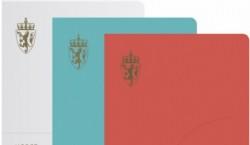 Nueva imagen de los pasaportes noruegos, Neue Design Studio, 2014.
