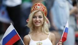 El Estadio Olímpico Luzhniki abrió sus puertas a más de 80.000 espectadores de todo el mundo para presenciar la ceremonia de inauguración del Mundial. Foto Infobae
