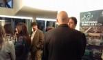 El cónsul de Italia, Iacopo Foti, en conversación con el embajador de Suiza en Argentina Hanspeter Mock