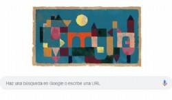 Google doodle: homenaje Rote Brücke, puente rojo. Obra de 1928