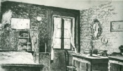 """Paul Klee pintó a tinta """"Mi Habitación"""" en el año 1896"""