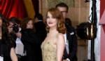 Emma Stone  impulsora del look sexy chic con un diseño de Givenchy  (Photo by Kevork Djansezian/Getty Images)