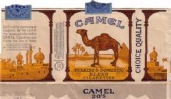 Paquete de Camel original, de 1913.