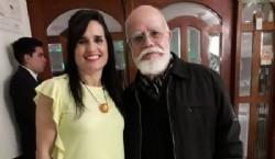 """Con el artista Ricardo """"Mono"""" Cohen Rocambole"""