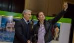 Vicepresidente de la Honorable Cámara de Diputados de la Pcia. B.A. Ramiro Gutiérrez con Maximiliano Vernazza Foto: MV
