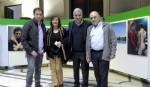 Grupo de Cultura con Maximiliano Vernazza y el Vicepresidente de la Honorable Cámara de Diputados de la Pcia de BA Ramiro Gutiérrez Foto: MV