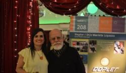 Con Rocambole, destacado y valorado artista internacional platense en el festejo de #Dopler10años