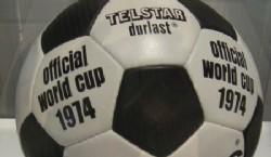 1934, Italia: la Federale 102se hizo, al igual que en primer Mundial, en la Argentina. Era un nuevo modelo donde la costura era por dentro para evitar problemas para los jugadores   Fuente: Archivo