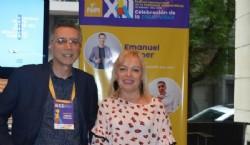 Carlos Pezzani y la Lic Jimena Cepeda