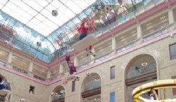 La juguetería Detsky Mir, la más grande de Europa.