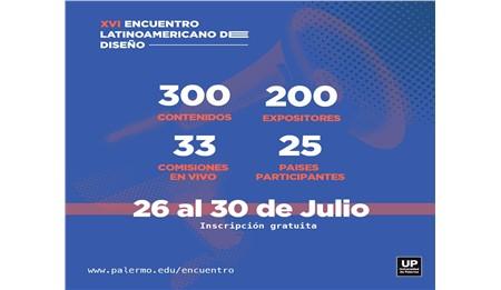 XVI Encuentro Virtual Latinoamericano de Diseño